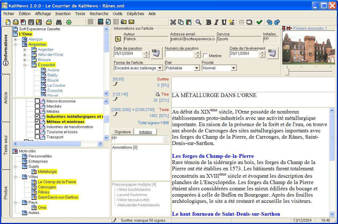 KaliNews 2.010 screenshot